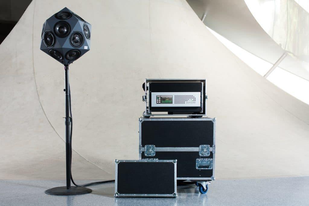 3D Audio Lautsprecher IKO und d:24 Verstärker von sonible
