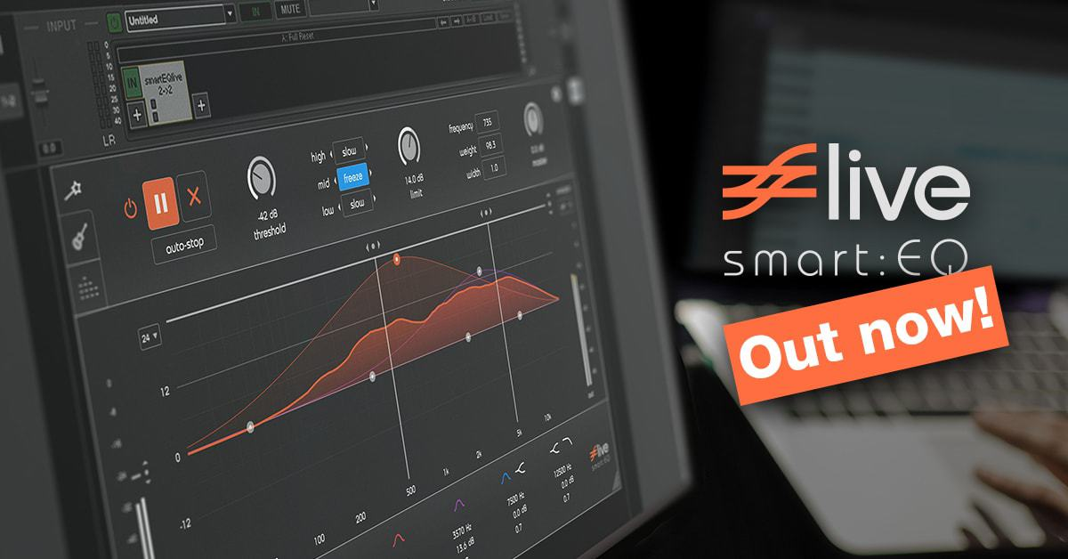 smart:EQ live – Experience your new live workflow