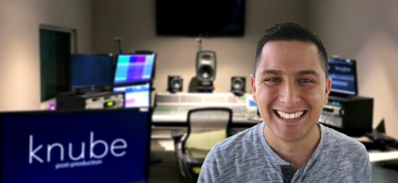 Carlos Hurtado from knube post production uses frei:raum to clean up dialog
