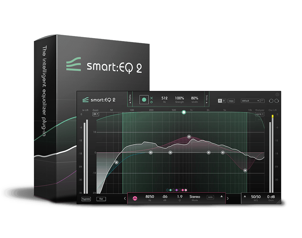 smart:EQ 2 | The Intelligent Equalizer Plug-in by sonible