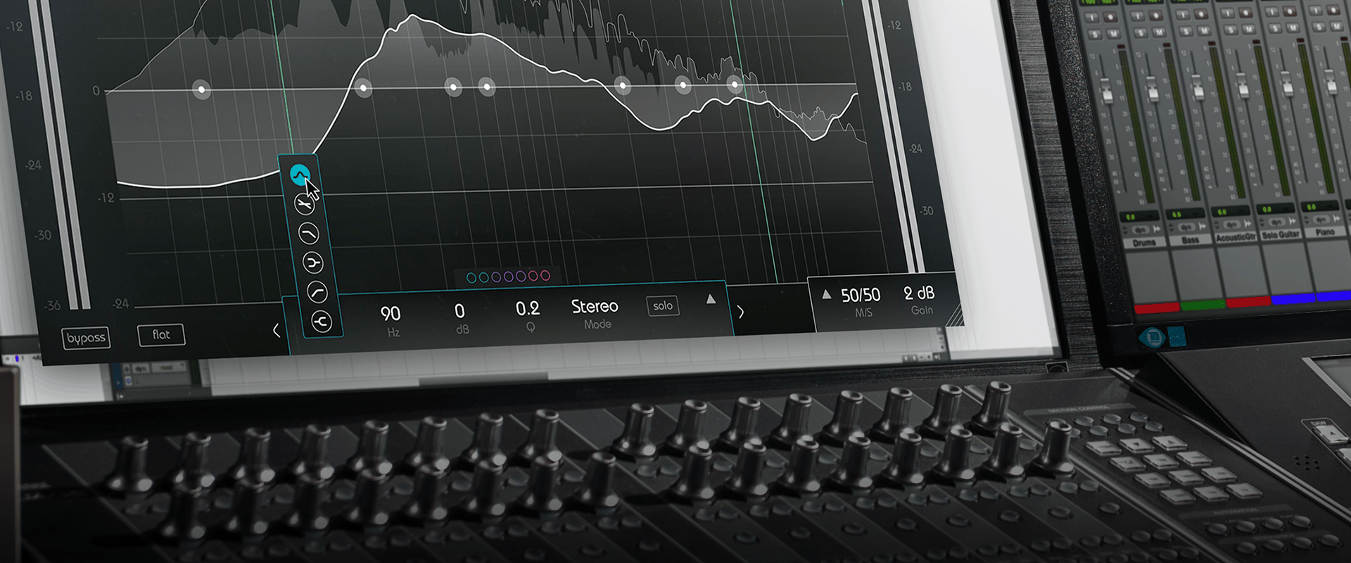 smart:EQ 2 is an state-of-the-art equalizer with built in A.I. engine